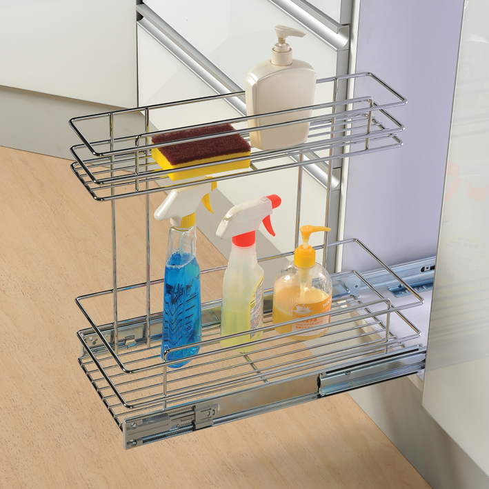 Kitchen Under Sink Organizer - Cabinet Organizers