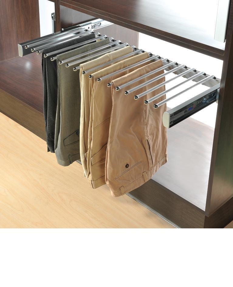 Ordinaire Sliding Pants Rack