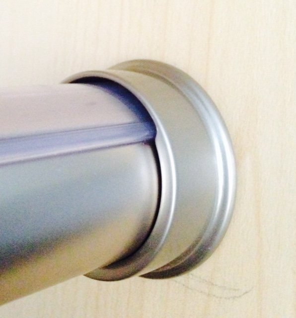 Satin Nickel Closet Rod