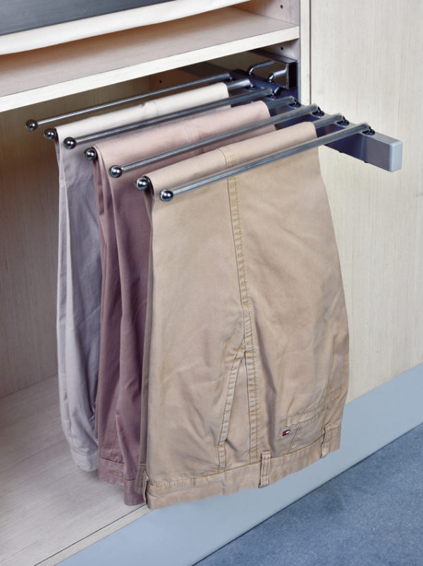 slide-out pants rack