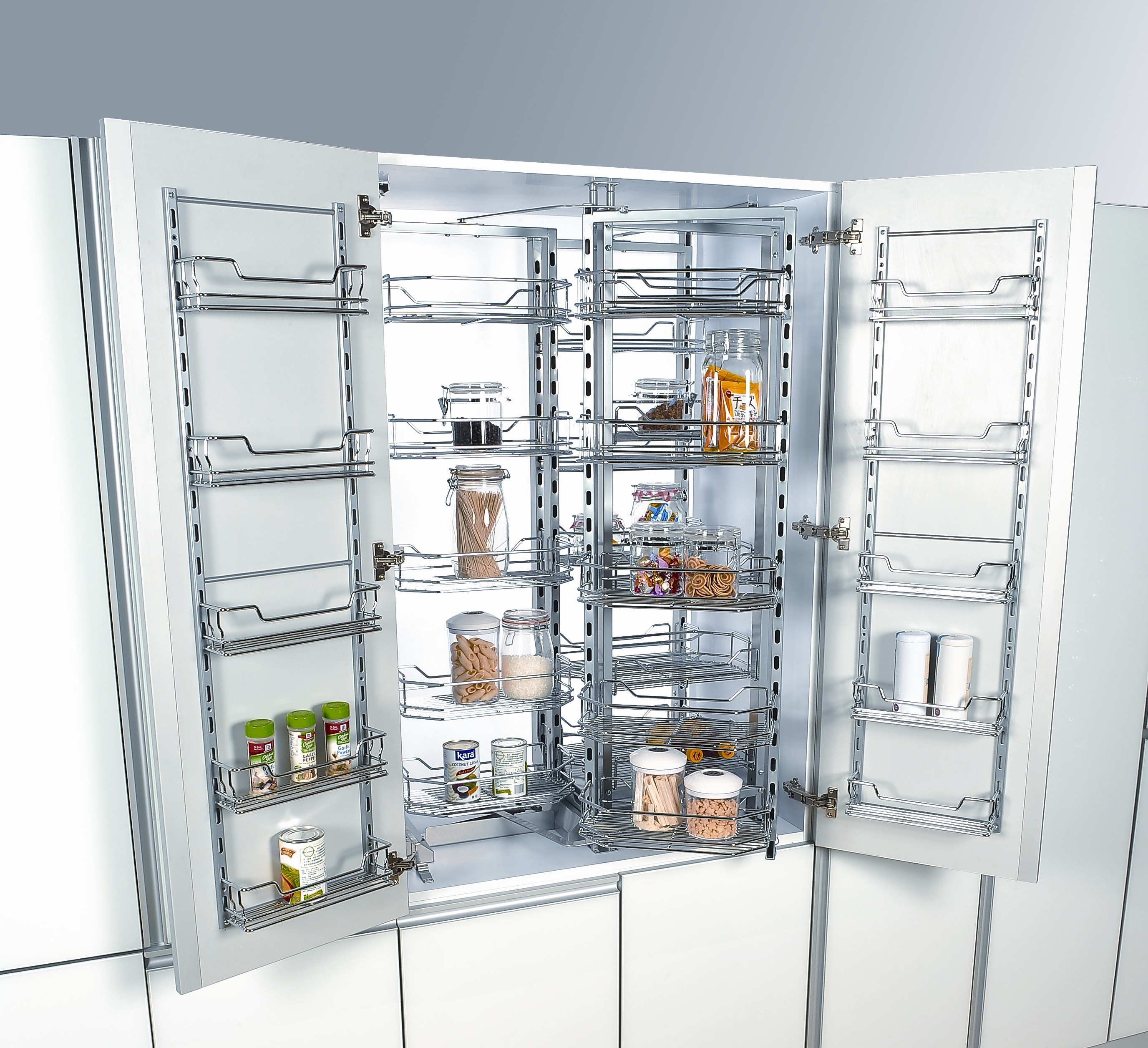 Get Organized With the Chef\'s Pantry - Cabinet Organizers
